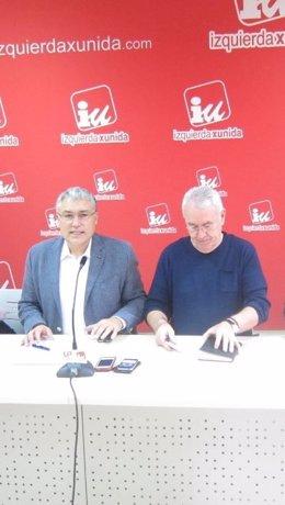 González Orviz y Lara, durante la rueda de prensa.