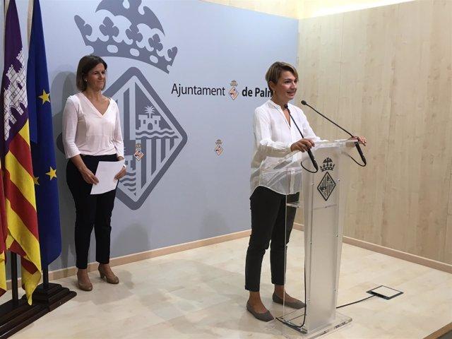 La portavoz del Grupo Municipal Popular, Marga Durán
