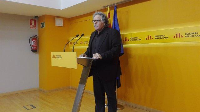 El diputado de ERC en el Congreso Jona Tardà