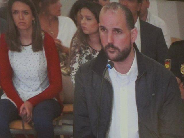 Imagen de Juan Cuenca durante su comparecencia en el juicio