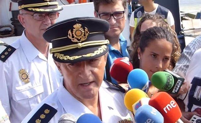 Eloy Quirós, comisario general de la Policía Judicial