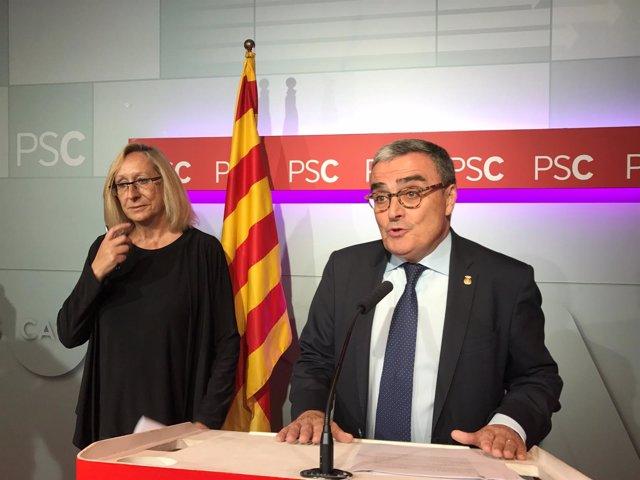 Assumpta Escarp y Àngel Ros, PSC