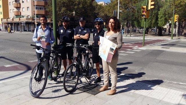 Presentación de la 'Guía del ciclista urbano'