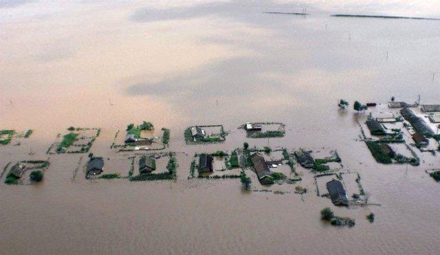 Inundaciones en Corea