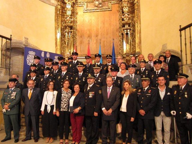 Celebracion Patron De La Policía Nacional