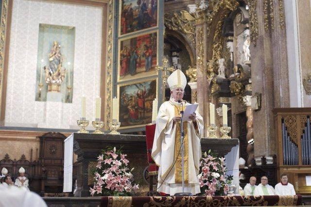 El cardenal Antonio Cañizares, arzobispo de Valencia.