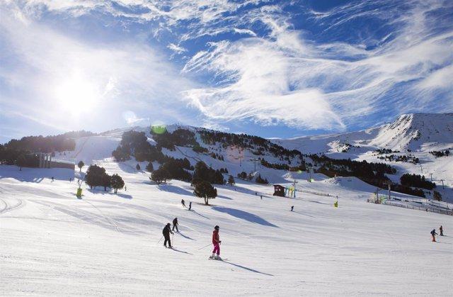 Imagen de la estación de esquí de Grandvalira