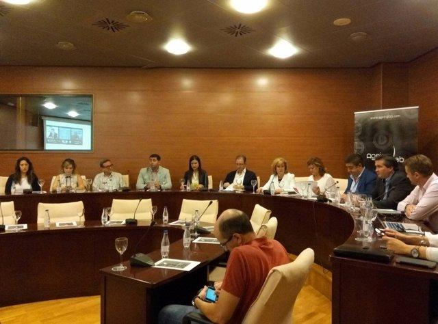 Reunión del comité científico del I Congreso de Envejecimiento y Discapacidad.