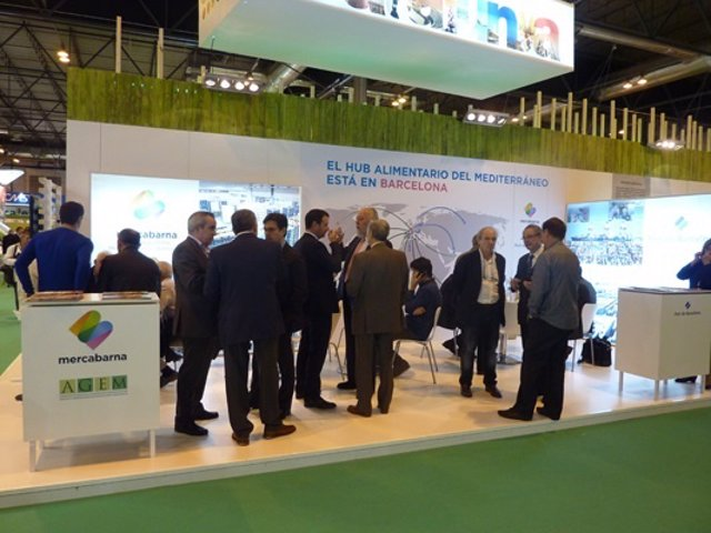 Expositor de Mercabarna en Fruit Attraction