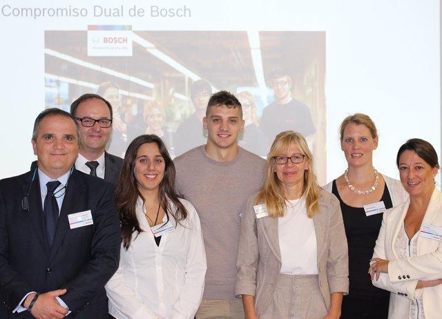 Nota De Prensa. Bosch Impulsa Nuevas Iniciativas De Formación Profesional Dual P