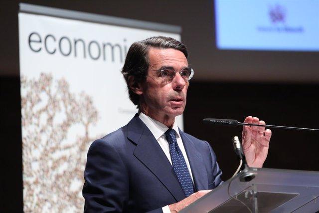 José María Aznar en un acto