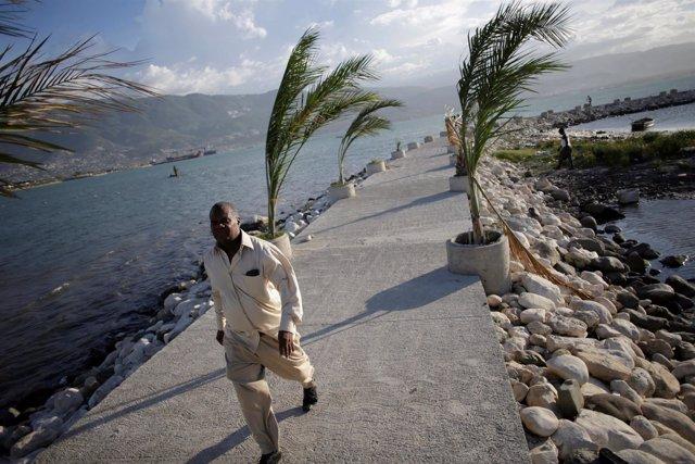 Haiti llegada del huracán Matthew