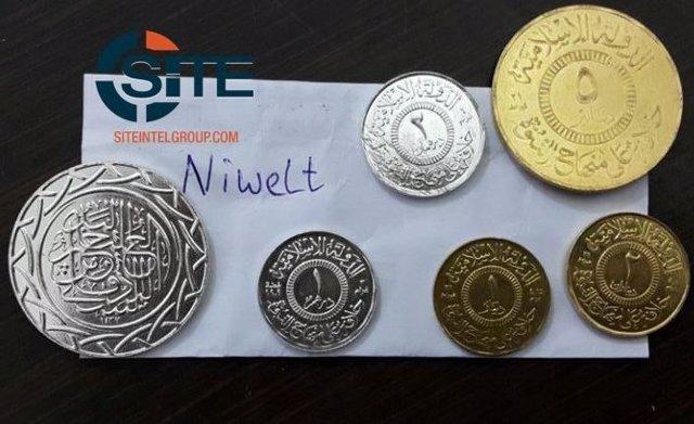Monedas creadas por Estado Islámico