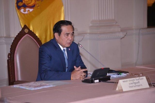 El general Prayuth Chan Ocha, jefe de la junta militar de Tailandia