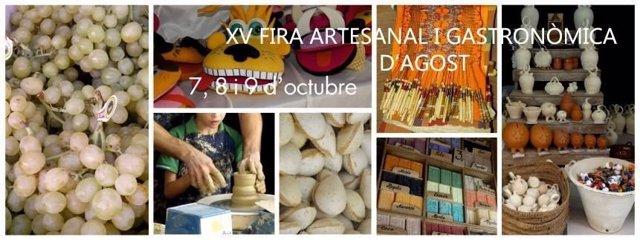 XV Feria Artesanal y Gastronómica de Agost