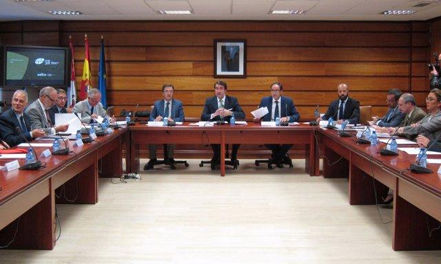 Reunión del Foro de la Rehabilitación de Castilla y León