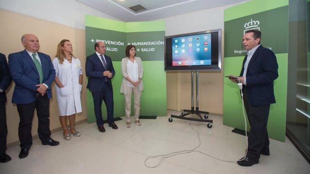 Presentación de la aplicación oficial para móvil de citas médicas