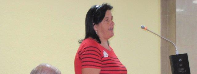 La madre prestando declaración junto a los otros dos acusados
