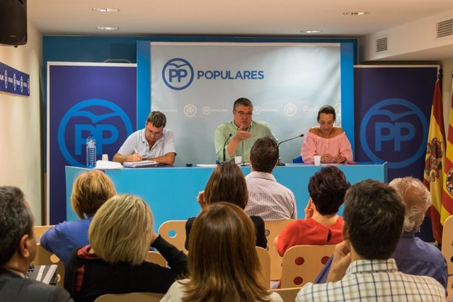 Antonio Torres, en el Comité de Dirección  Provincial del PP