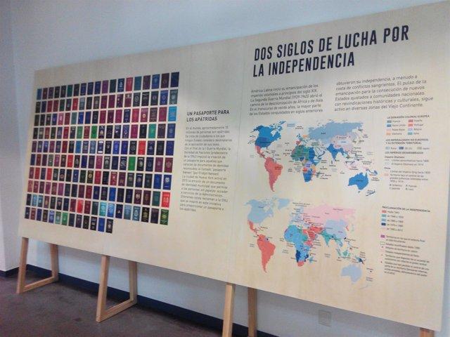 La exposición Conflictos de fronteras, en La Casa Encendida