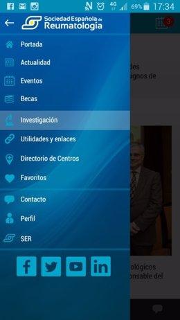 La Sociedad Española de Reumatología lanza su nueva App