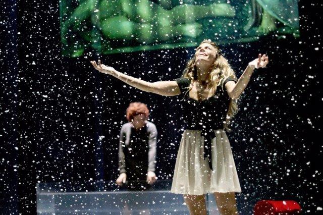 Imagen de una representación teatral