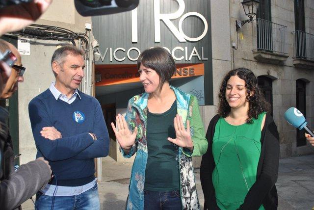 La portavoz nacional del BNG, Ana Pontón (Ourense)