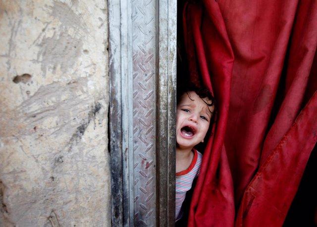 Niño en Saná