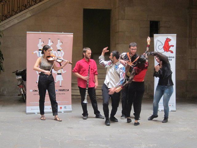 Presentación de la XIX Fira Mediterrànea en el Palau Marc