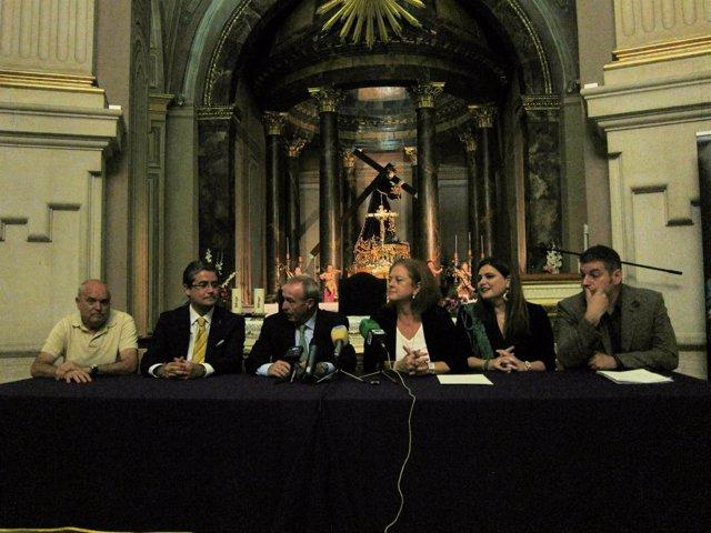 Presentación del convenio entre Museo Salzillo y Museo de Bellas Artes de Bilbao