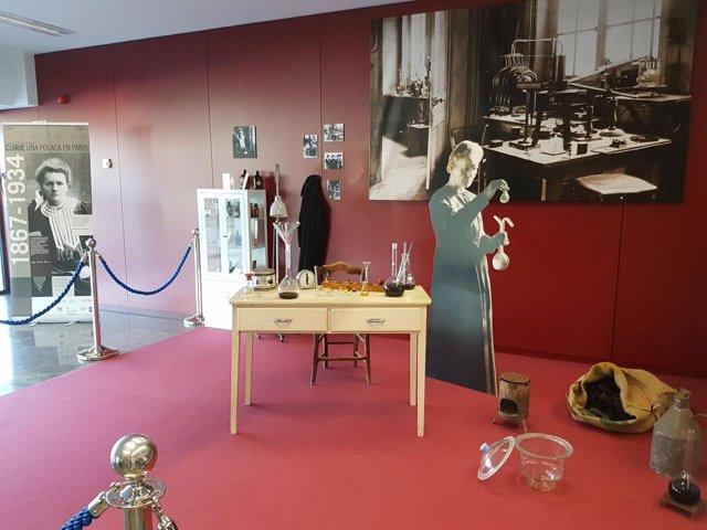 Exposición Marie Curie en el Hospital 12 de octubre