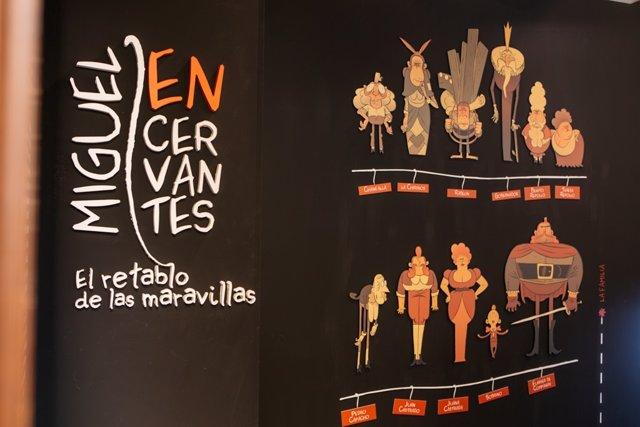 Exposición 'Miguel EN Cervantes'