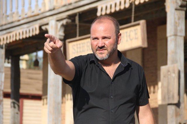 El director de cine Víctor Matellano