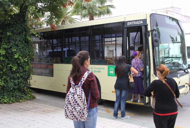 Autobuses del Consorcio de Transportes.