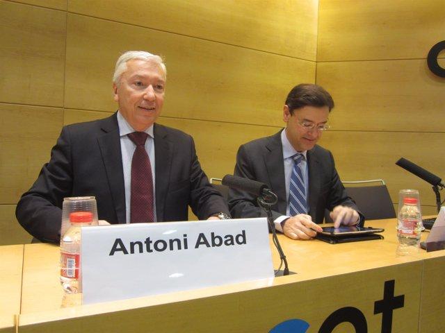 Antoni Abad y David Garrofé