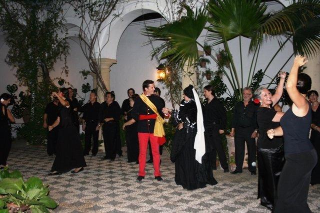 Una de las representaciones del musical en Viana