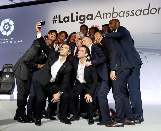 Foto de los Embajadores de LaLiga