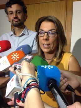 La diputada andaluza de Podemos Begoña Gutiérrez