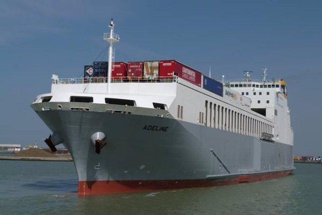Buque de la naviera CLdN