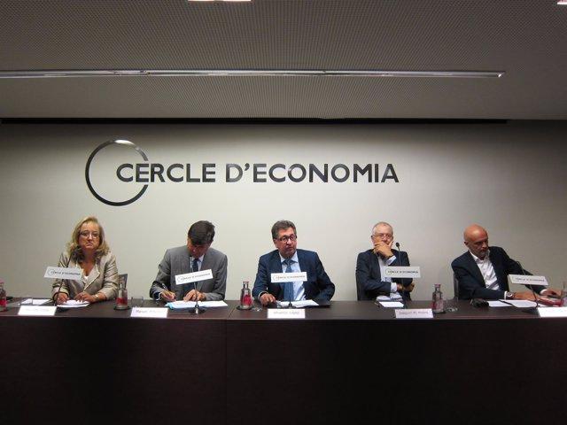Presentación del Clúster Erice en el Círculo de Economía