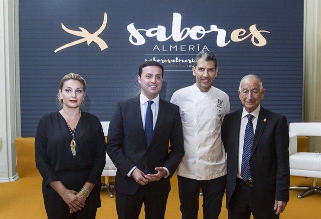 La marca gourmet 'Sabor es Almería' deslumbra en Madrid.