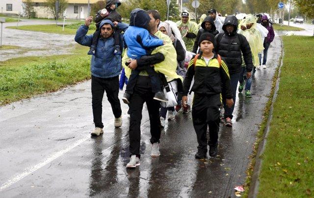 Refugiados en Tornio
