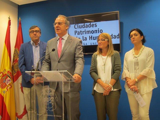 Las Ciudades Patrimonio y la UEx abordan un curso sobre fiscalidad