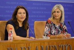Carmen Crespo y Patricia del Pozo