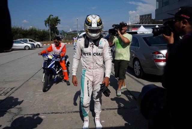 Lewis Hamilton Malasia Sepang