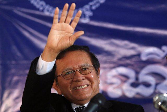 Kem Sokha, líder del Partido para el Rescate Nacional de Camboya.