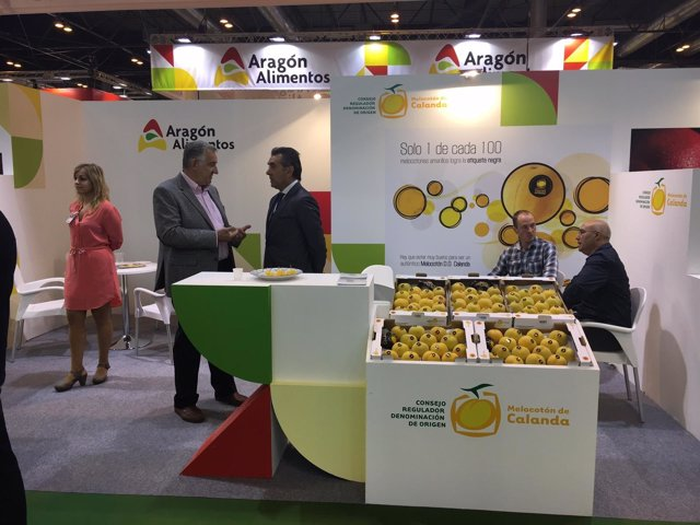 82 Empresas Aragonesas En La Feria Fruit Attraction, En Madrid