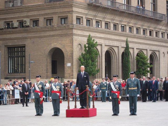 Arsenio Fernández de Mesa ha asistido hoy a un acto en Zaragoza