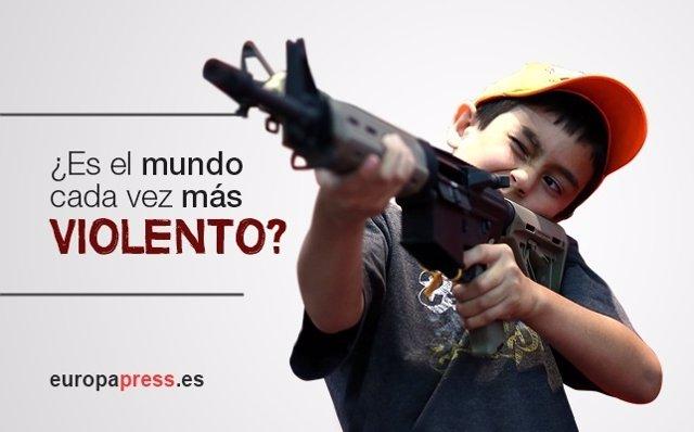 ¿Es El Mundo Más Violento Que Antes?