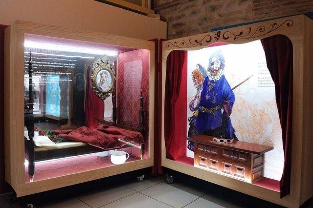 Exposición '16 personajes que maravillan y... Miguel de Cervantes'